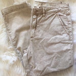 NWT Anthropologie Chino slim pant